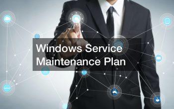 Windows Server Maintenance Plan
