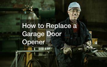 How to Replace a Garage Door Opener