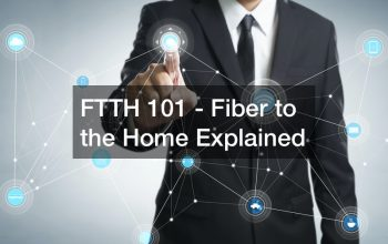 FTTH 101 – Fiber to the Home Explained